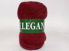 Пряжа полушерстяная Vita Elegant, Color No.2091 багровый