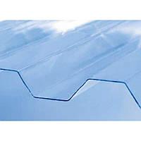 Полікарбонатний шифер Rober прозорий 2000*1045*0,5мм трапеція