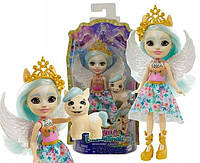 """Кукла Энчантималс роял """"Пегас Паолина с питомцем Вингли"""" Enchantimals Royals Mattel (GYJ03)"""