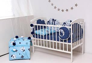 """Детский постельный набор Бэйби - блу """"наполнитель холлофайбер высшего сорта"""""""