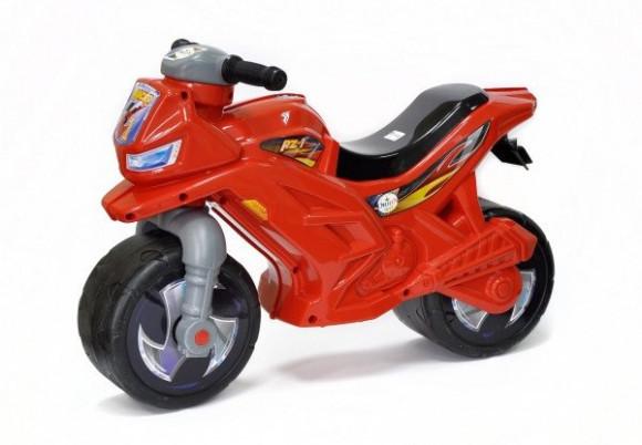 """Беговел """"Мотоцикл"""" червоний ОРІОН"""