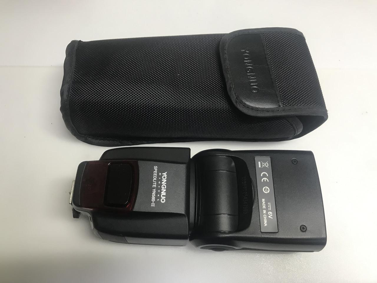 Вспышка Yongnuo YN560-II Speedlite для Canon Nikon