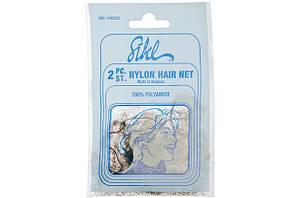 Sibel Сітка-павутинка для зачіски світло-коричнева 2шт