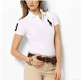 У стилі Ральф поло жіноча футболка жіноча поло ралф, фото 3
