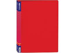Папка пластиковая А4 EconoMix на 4 кольца мм 3 см красный Е30702-03