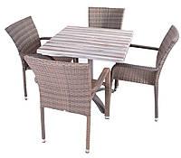 Набор  для кафе Manila +стол  MODENA 80 х80 см