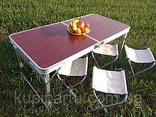 Раскладной стол для пикника, стулья СТ-1