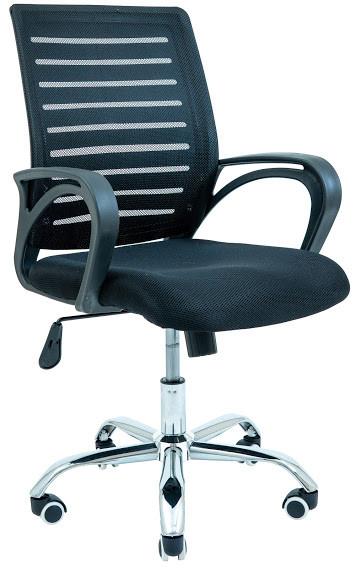 Крісло офісне Флеш хрестовина Хром ТМ Richman