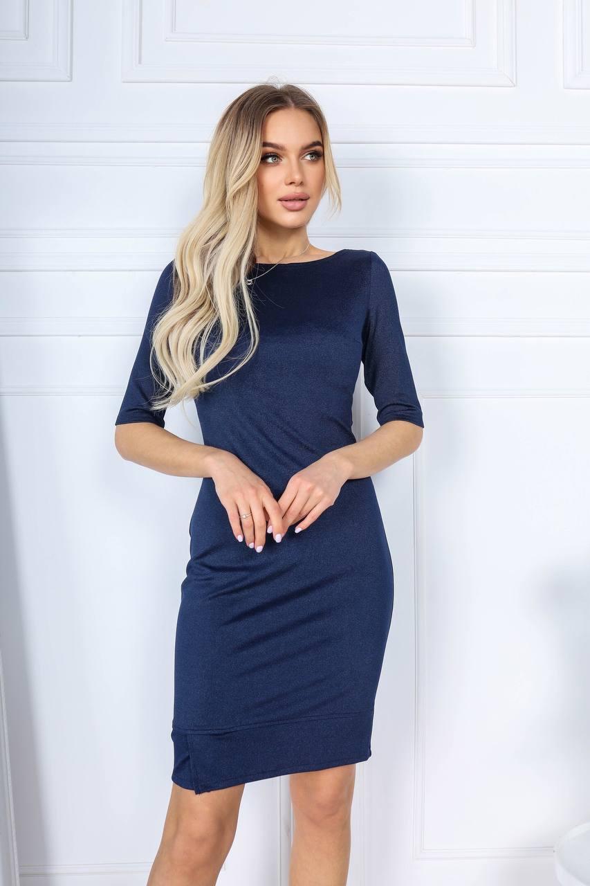 Красивое женское платье Синий