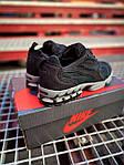 Мужские кроссовки Nike x Stüssy Air Zoom Spiridon Cage 2 (черный) кроссы модные в сеточку К7710, фото 2
