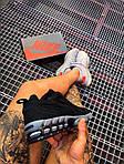 Мужские кроссовки Nike x Stüssy Air Zoom Spiridon Cage 2 (черный) кроссы модные в сеточку К7710, фото 3