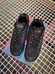 Мужские кроссовки Nike x Stüssy Air Zoom Spiridon Cage 2 (черный) кроссы модные в сеточку К7710, фото 4