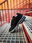 Мужские кроссовки Nike x Stüssy Air Zoom Spiridon Cage 2 (черный) кроссы модные в сеточку К7710, фото 5