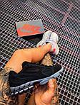 Мужские кроссовки Nike x Stüssy Air Zoom Spiridon Cage 2 (черный) кроссы модные в сеточку К7710, фото 7