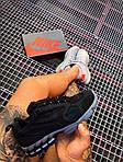Мужские кроссовки Nike x Stüssy Air Zoom Spiridon Cage 2 (черный) кроссы модные в сеточку К7710, фото 10