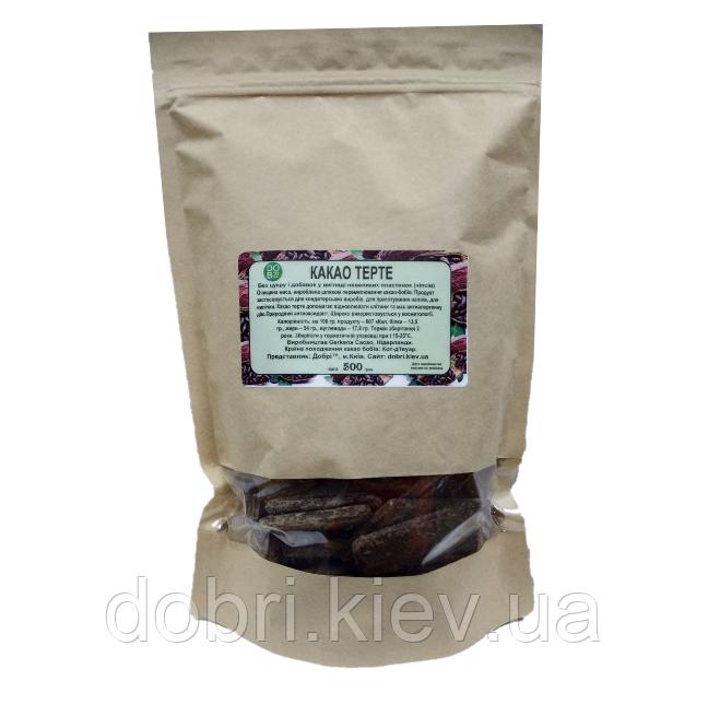 Какао терте (шоколадні пластини). Нідерланди (500 г)
