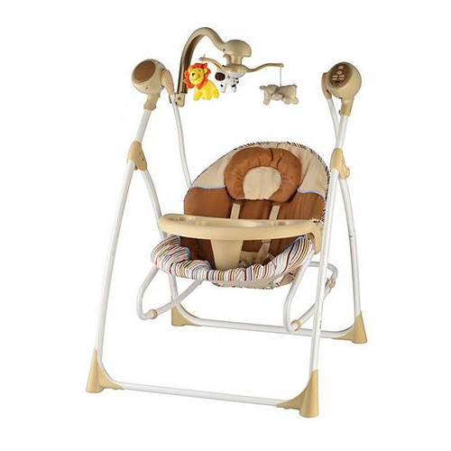 Детское кресло-качели Bambi M 1540-3-2 на р/у
