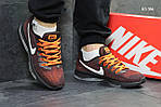 Чоловічі кросівки Nike Zoom All Out (бордово-помаранчеві) KS 384 демісезонна легка взуття, фото 5