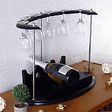 Набір для вина на 6 чарок-Престиж SS0081, фото 3