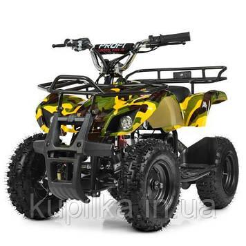 Квадроцикл Profi HB-EATV 800N-13 V3 Желтый