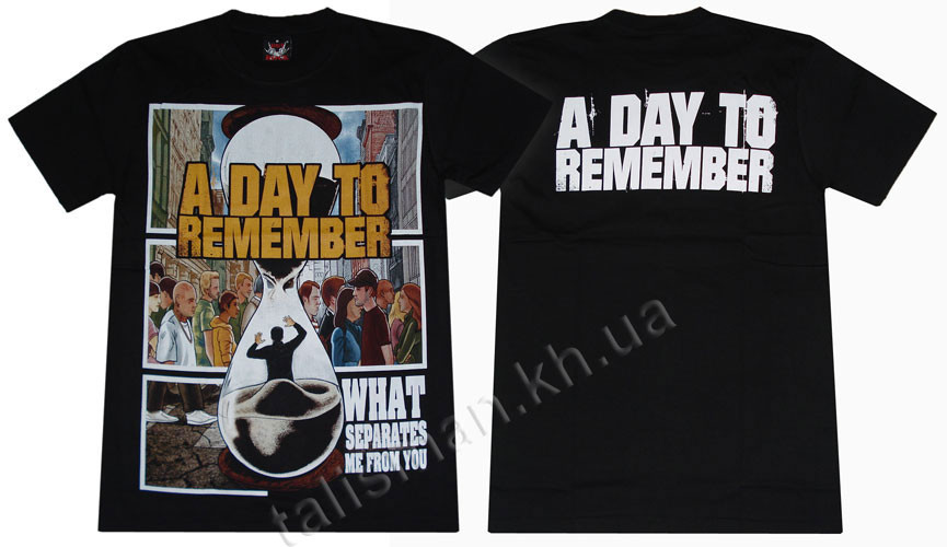 A DAY TO REMEMBER - What separates... - футболка Таиланд