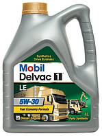 Моторное масло Mobil Delvac 1 LE 5W-30 4л