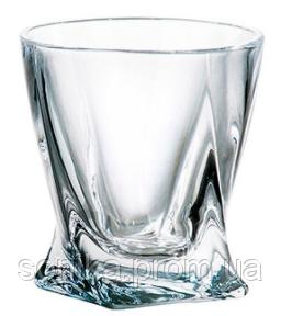 Набір стаканів для віскі Bohemia Quadro 340 мл 6 шт b2k936-99A44
