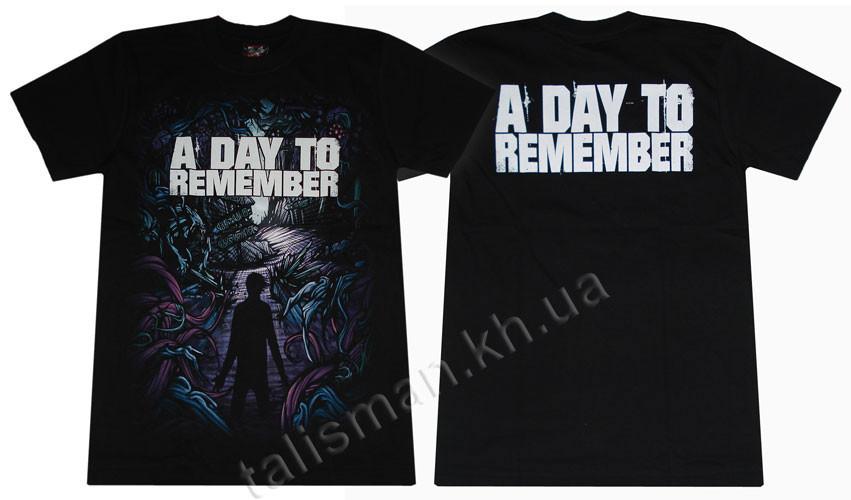 A DAY TO REMEMBER - футболка Таиланд
