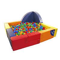 """Бассейн с шариками для детей  """"Ракета 1"""""""