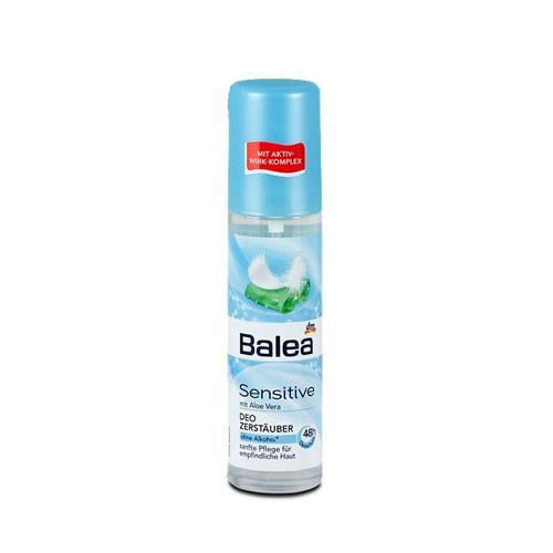 Balea Deospray Sensitive дезодорант-спрей в стеклянной бутылке 75 мл