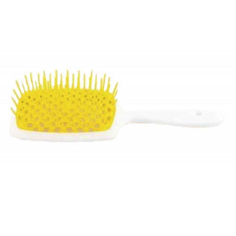 Расчёска для волос белая Original Mini Superbrush Janeke