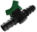 Кран для капельной трубки 16х16