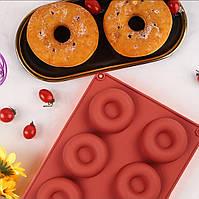 Силиконовая форма для пончиков