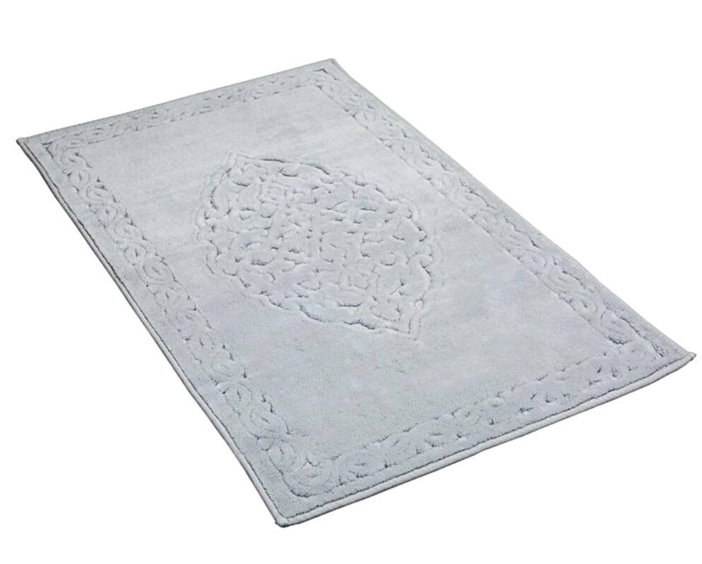 Натуральный серый хлопковый ковер 80*150 см Ceren 100% Хлопок, Турция