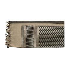 M-tac шарф шемаг койот с черным (coyote/black), фото 3