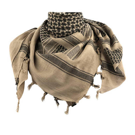 M-tac шарф шемаг койот с черным (coyote/black), фото 2