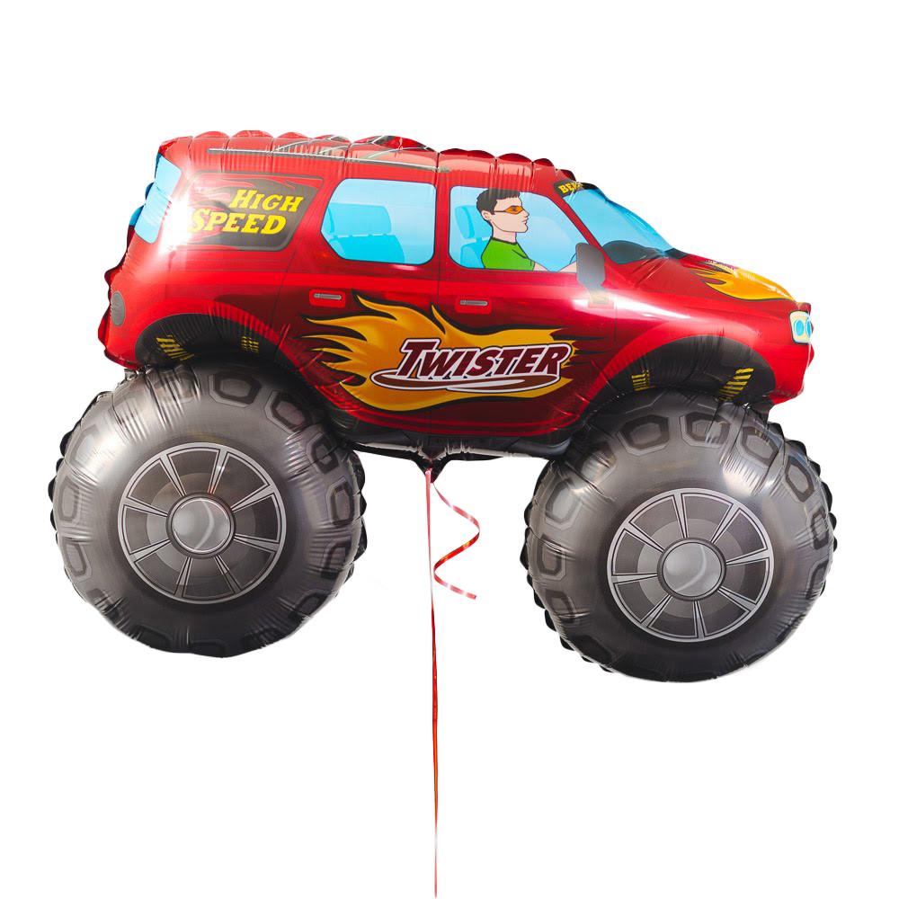 Червоний джип