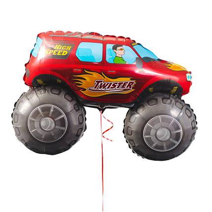 Червоний джип, фото 2