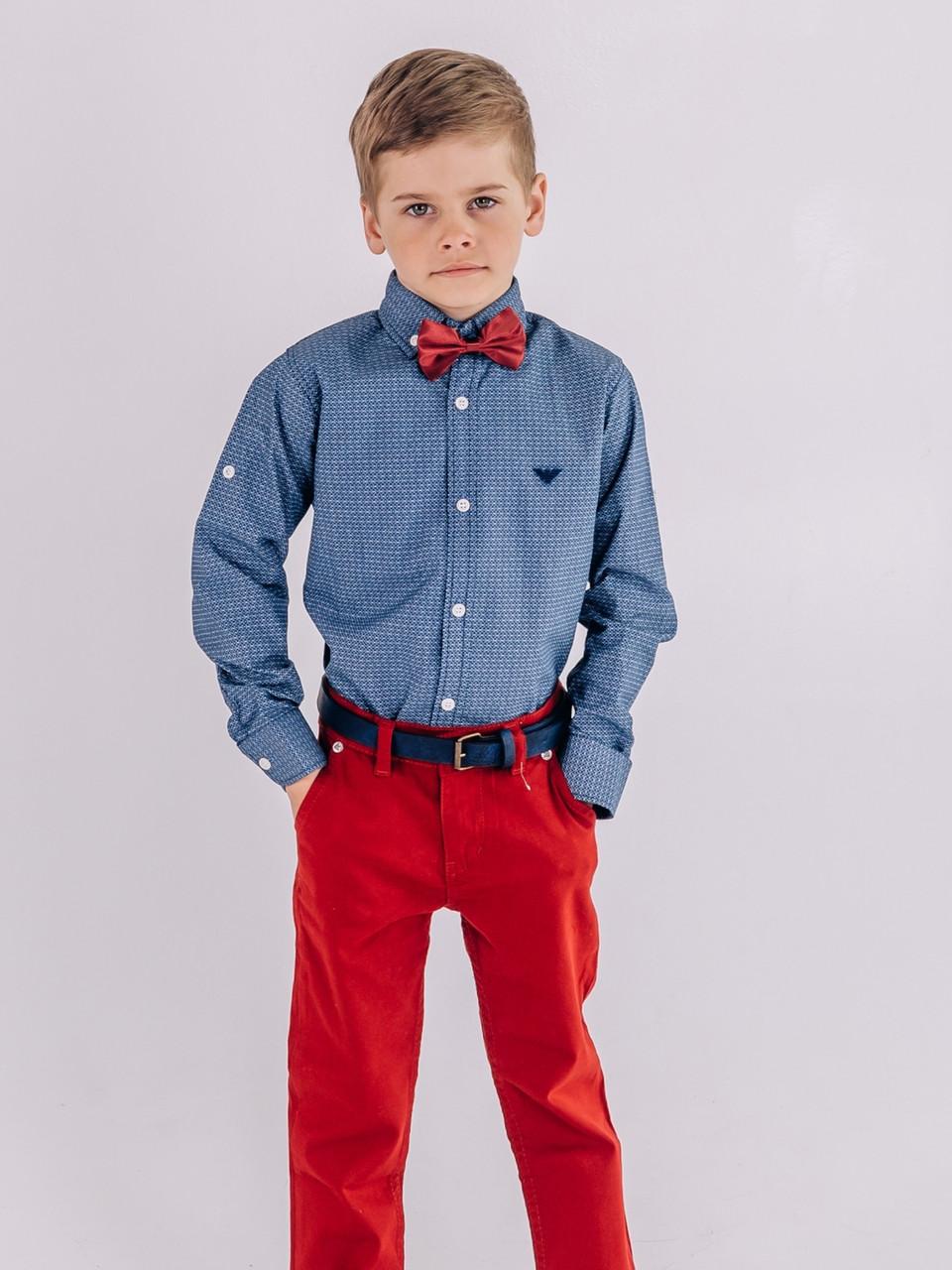 Рубашка ARMANI серая для мальчиков
