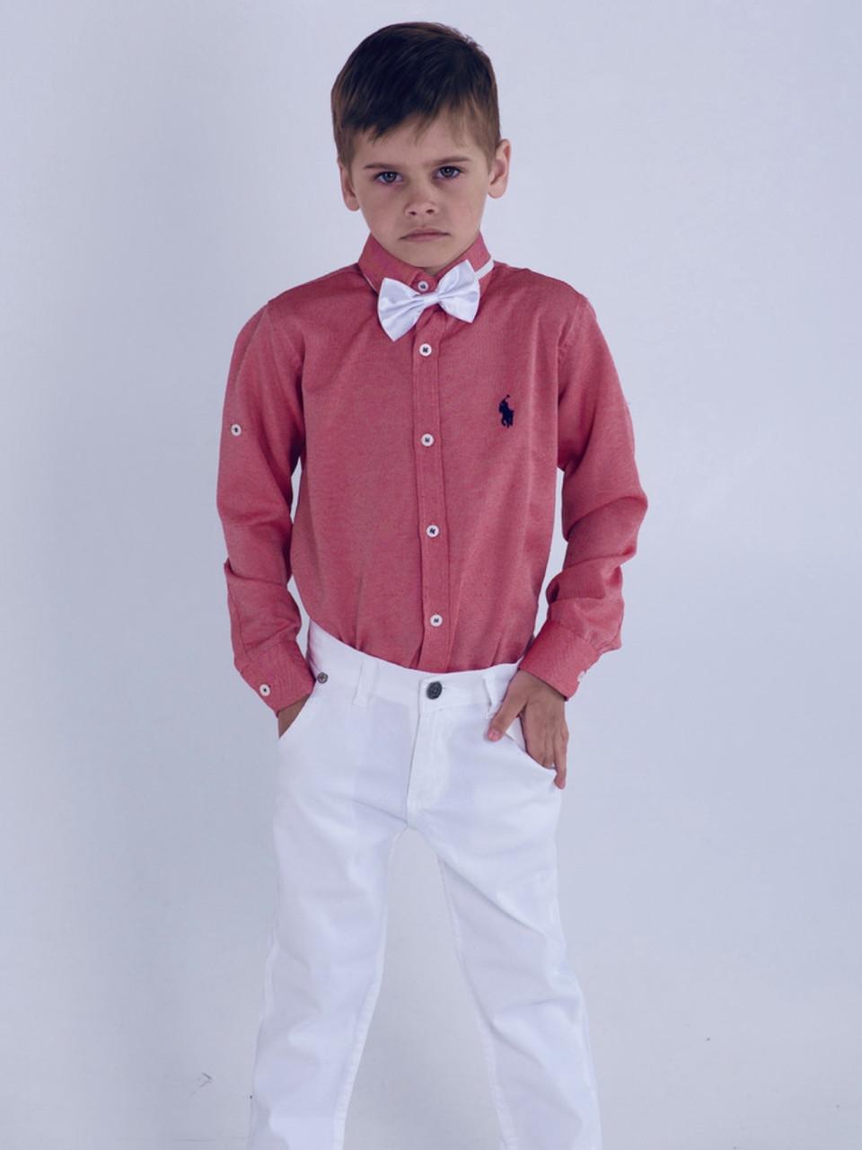 Стильная рубашка Polo для мальчика 5-6 лет