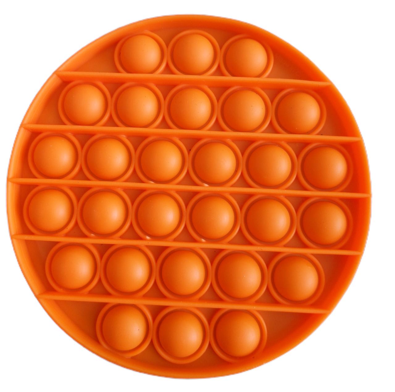 Pop It Игрушка Антистресс, Пупырка, Поп Ит Антистресс, Pop it fidget, Попит, Оранжевый Круг