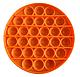 Pop It Игрушка Антистресс, Пупырка, Поп Ит Антистресс, Pop it fidget, Попит, Оранжевый Круг, фото 2
