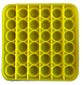 Pop It Игрушка Антистресс, Пупырка, Поп Ит Антистресс, Pop It Fidget, Попит, Желтый Квадрат, фото 2
