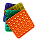 Pop It Сенсорная Игрушка, пупырка, Поп Ит Антистресс, Pop It fidget, Попит, Квадрат (Цвет на Выбор), фото 2