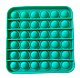 Pop It Сенсорная Игрушка, пупырка, Поп Ит Антистресс, Pop It fidget, Попит, Квадрат (Цвет на Выбор), фото 5