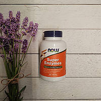 Now Foods Super Enzymes 100 tab, пищеварительные ферменты Нау