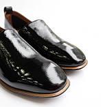 Женские лаковые туфли черные, фото 8