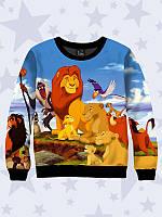 Світшот / Свитшот 3D THE LION KING/Король Лев, фото 1