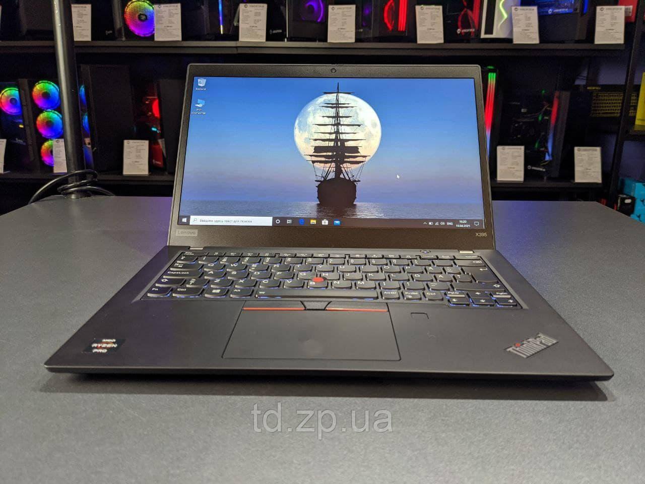 """Ноутбук Lenovo ThinkPad X395 13.3"""" AMD Ryzen 5 Pro 3500U/8Gb DDR4/256Gb SSD"""