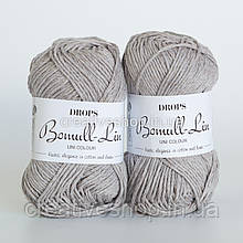 Пряжа Drops Bomull-Lin (цвет 15 light grey)
